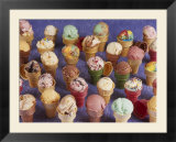 A Variety of Ice Cream Cones