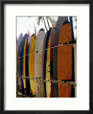 Surfboards  Waikiki Beach Oahu  Hawaii