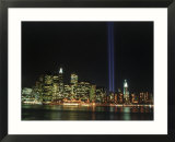 World Trade Center Memorial Lights  New York City