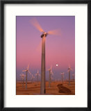 Wind Generators with Moon