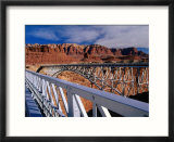 Navajo Bridge Over the Colorado River in Utah  Utah  USA