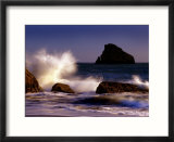 Harris Beach  Crashing Waves  Oregon