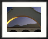 Arch And Mountain At Dawn  Ojai  CA
