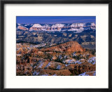 Winter Time in Bryce Canyon National Park  Bryce Canyon National Park  Utah  USA