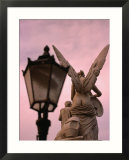 Angel Statue on Schlossbrucke Bridge  Berlin  Greater Berlin  Germany