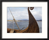 Viking Oseberg Ship  Haholmen  West Norway  Norway  Scandinavia