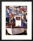 Fishing Boats in Port  Concarneau  Brittany  France