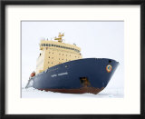 Russian Icebreaker  Kapitan Khlebnikov in Pack Ice  Weddell Sea  Antarctica  Polar Regions