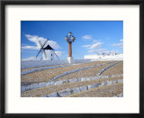 Old Traditional Windmills  Campo De Criptana  Castilla La Mancha  Spain