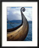 Oseberg Replica Viking Ship  Norway