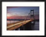 Severn Road Bridge  Severn Estuary  Wales  England
