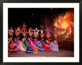 Dance and Fireworks called Bani Stui Gulal Tells the Story of the Guelaguetza  Oaxaca  Mexico