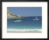 People fishing in bay  Cabo San Lucas  Mexico