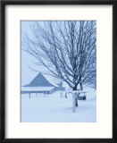 Farmhouse in Winter - La Beauce