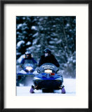 Police Snowmachines  Anchorage  USA