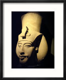 Statue of Pharaoh Akhenaten  Also Known as Amenhotep IV  Roman Museum of Antiquities
