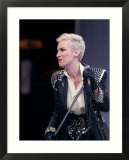 Annie Lennox of Eurythmics at Mandela Concert in Honour of Nelson Mandela's 70th Birthday  Jun 1988