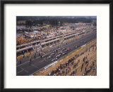Starting Grid of the 1967 French Grand Prix at Le Mans