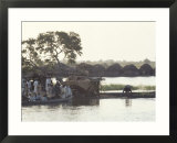 Early Morning River Scene  Northern Area  Nigeria  Africa
