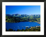 Akaroa Harbour  Banks Peninsula  Canterbury  New Zealand