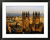 New College And New Town  Edinburgh  United Kingdom