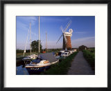 Horsey Windmill  Norfolk Broads  Norfolk  England  United Kingdom