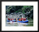 People on Rafting Trip  Snake River  Hells Canyon  Idaho