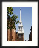 Old North Church  North End  Boston  Massachusetts  USA