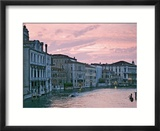 Grand Canal at Dusk from Academia Bridge  Venice  Italy