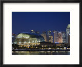 Esplanade Theatres on the Bay  Singapore  Southeast Asia  Asia
