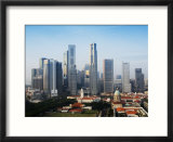 City Skyline at Dawn  Singapore  Southeast Asia  Asia