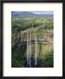 Chamarel Waterfalls  Mauritius  Indian Ocean