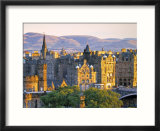 Skyline of Edinburgh  Scotland