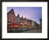 The Markt  Bruges  Flanders  Belgium