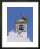 Arco Da Vila with Storks Nest  Faro  Algarve Portugal