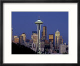 Seattle Skyline  Washington  USA