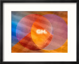 Colored Circles of Light with Ghz