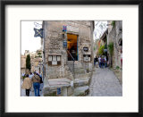 Tourists Shopping in Les Baux de Provence  France