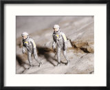 Astronaut Figurines on the Moon