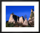 Volcanic Ash Sculpted by Time  Tent Rocks National Monument  New Mexico  USA