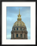 Gold Dome of Hotel des Invalides  Paris  France