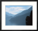 Lake Crescent in the Olympic Mountains  Washington  USA