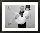 Dick Emery and Una Stubbs Seen Here Rehearsing for the Dick Emery Show  Entertainment  July 1963