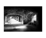 Archways And Light Beams  Fort Jefferson  FL