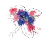 Blue Liquid Flower