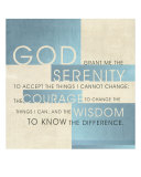 Serenity Prayer III