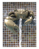 Crab Fountain in Krabi  Thailand