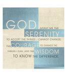 Serenity Prayer III