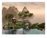 Asian Ocean Landscape