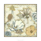 Neutral Floral Keepsake II